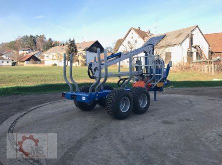Rückewagen & Rückeanhänger des Typs Scandic ST-8 10,5t 7,9m Kran 550kg Hubkraft, Neumaschine in Tiefenbach (Bild 6)