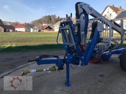 Rückewagen & Rückeanhänger des Typs Scandic ST-8 10,5t 7,9m Kran 550kg Hubkraft, Neumaschine in Tiefenbach (Bild 9)