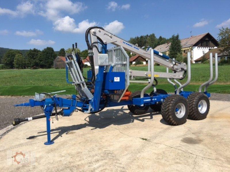 Rückewagen & Rückeanhänger des Typs Scandic ST-8 7,1m Kran 600kg Auflauf- Hydraulische Bremse 40% Förderung, Neumaschine in Tiefenbach (Bild 1)