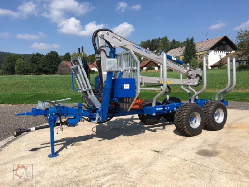 Rückewagen & Rückeanhänger des Typs Scandic ST-8 7,1m Kran 600kg Auflauf- Hydraulische Bremse, Neumaschine in Tiefenbach (Bild 1)