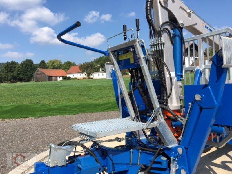 Rückewagen & Rückeanhänger des Typs Scandic ST-8 7,1m Kran 600kg Auflauf- Hydraulische Bremse, Neumaschine in Tiefenbach (Bild 7)