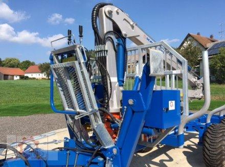 Rückewagen & Rückeanhänger des Typs Scandic ST-8 7,1m Kran 600kg Hubkraft Aufl- Hydr. Bremse, Neumaschine in Tiefenbach (Bild 5)