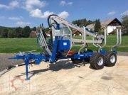 Scandic ST-8 8t 7,1m Kran 600kg Auflauf- Hydraulische Трелевочные прицепы