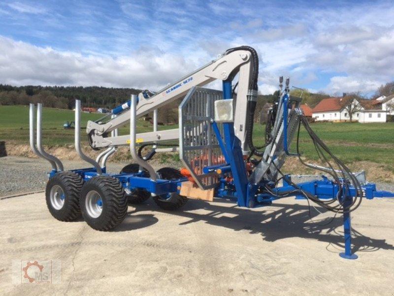 Rückewagen & Rückeanhänger des Typs Scandic St-8 8t 7,9m Kran Auflauf Hydr. 550kg 40% Förderung, Neumaschine in Tiefenbach (Bild 1)