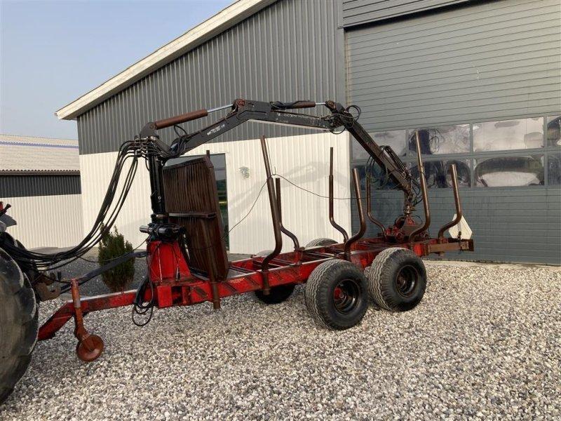 Rückewagen & Rückeanhänger типа Sonstige 10 t med 6 meter kran, Gebrauchtmaschine в Thorsø (Фотография 1)