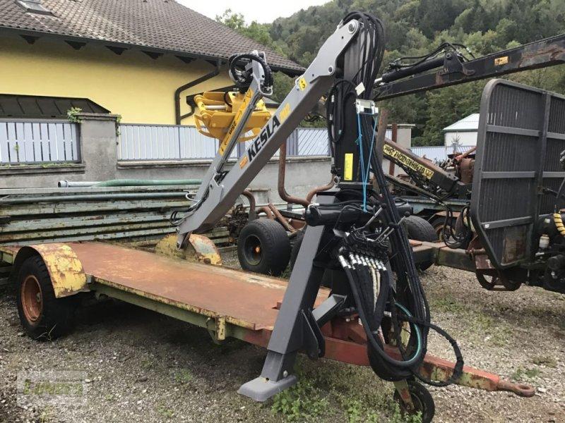Rückewagen & Rückeanhänger типа Sonstige Plateuanhänger mit Kesla 202, Gebrauchtmaschine в Kaumberg (Фотография 1)