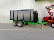 Sonstige Rückewagen 9t mit Einlegwannen gebraucht hátsó függesztékek/hátsó kocsik