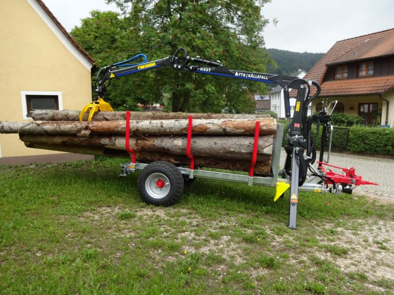 Rückewagen & Rückeanhänger des Typs Sonstige RWE6-53T, Neumaschine in Happurg (Bild 4)