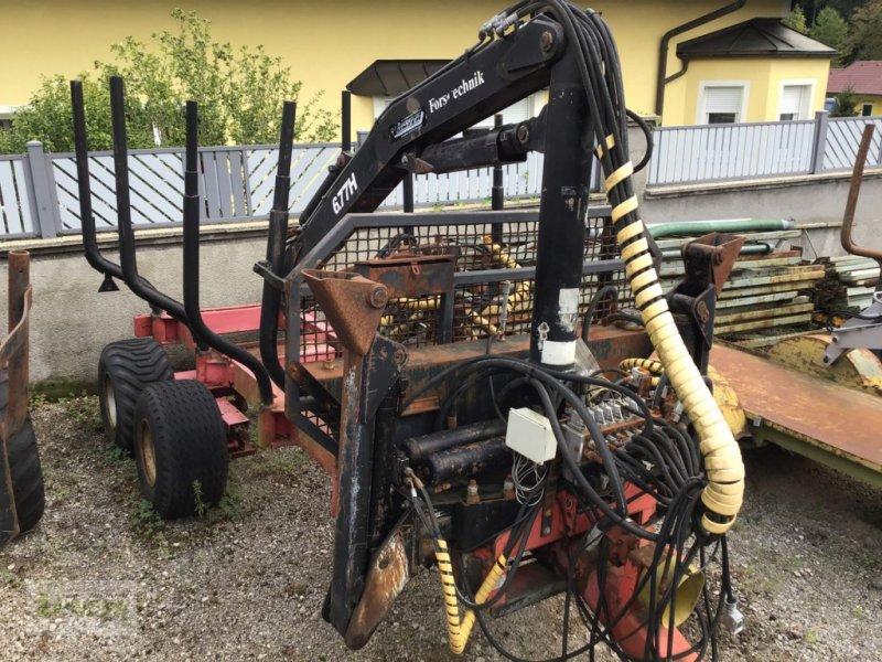 Rückewagen & Rückeanhänger типа Sonstige SP 11 t mit 677, Gebrauchtmaschine в Kaumberg (Фотография 1)