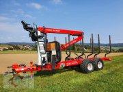 Rückewagen & Rückeanhänger tip Stepa FHL 11 AK mit Kran 60.87 8,7m, Gebrauchtmaschine in Tiefenbach