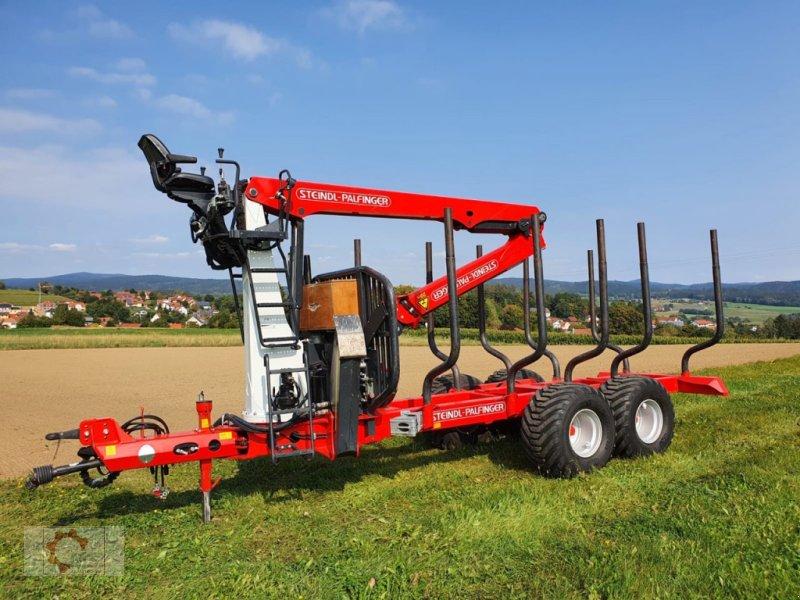Rückewagen & Rückeanhänger des Typs Stepa FHL 11 AK mit Kran 60.87 8,7m, Gebrauchtmaschine in Tiefenbach (Bild 1)