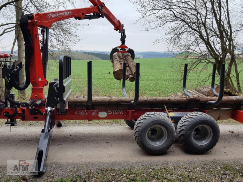 Rückewagen & Rückeanhänger des Typs Stepa STEPA C10, C12 oder M14, M16, Neumaschine in Gotteszell (Bild 11)