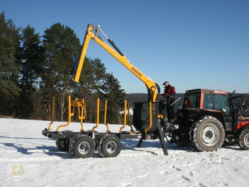 Rückewagen & Rückeanhänger типа Uniforst Economy 2 Duo mit 6.90m Kran, Neumaschine в Heimbuchenthal (Фотография 1)