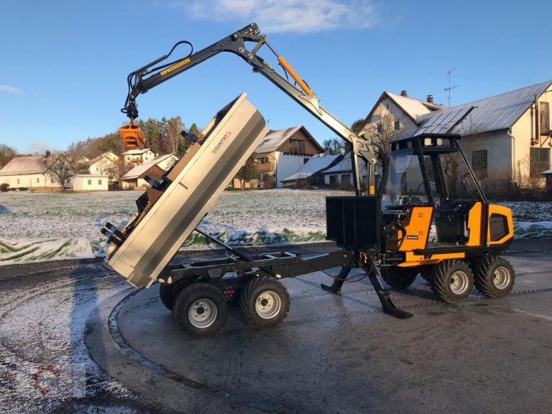Rückezug des Typs Kinetic 8x8 5,5m Kran Winde Kipper Erdbohrer, Neumaschine in Tiefenbach (Bild 7)