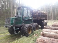 Timberjack 1110C Rückezug