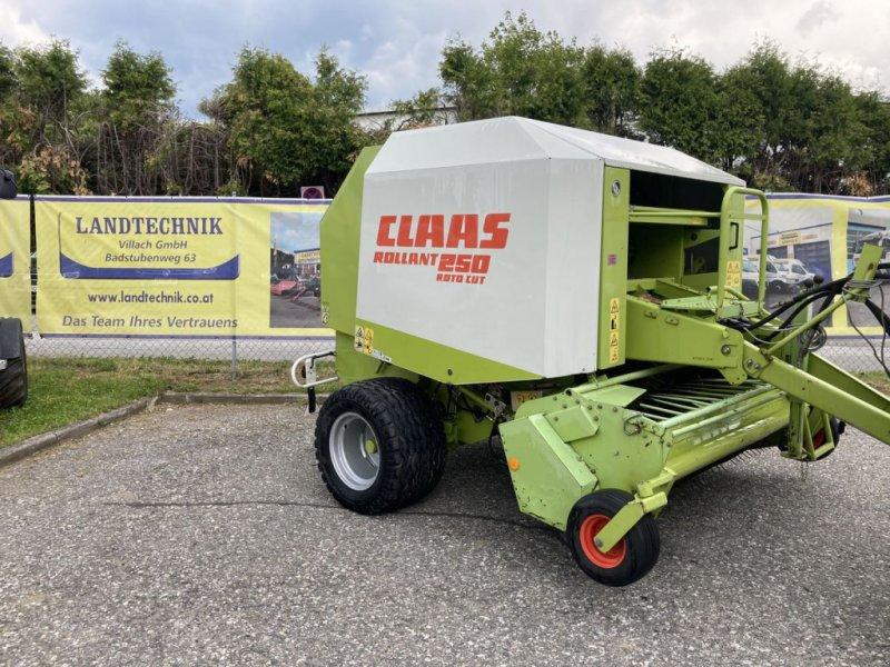 Rundballenpresse des Typs CLAAS Rollant 250 RC, Gebrauchtmaschine in Villach (Bild 1)