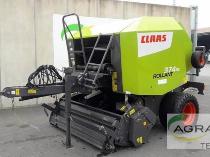 Rundballenpresse des Typs CLAAS ROLLANT 374 RC PRO, Gebrauchtmaschine in Melle (Bild 1)