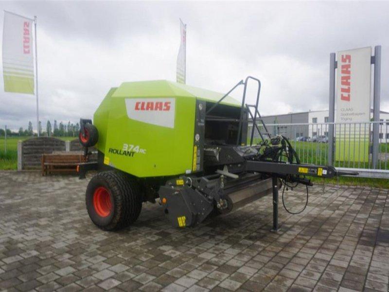 Rundballenpresse des Typs CLAAS ROLLANT 374 RC PRO, Gebrauchtmaschine in Töging a. Inn (Bild 1)