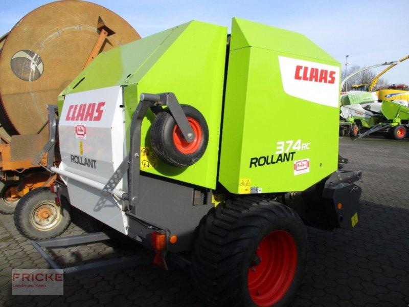 Rundballenpresse des Typs CLAAS ROLLANT 374 RC PRO, Gebrauchtmaschine in Bockel - Gyhum (Bild 1)