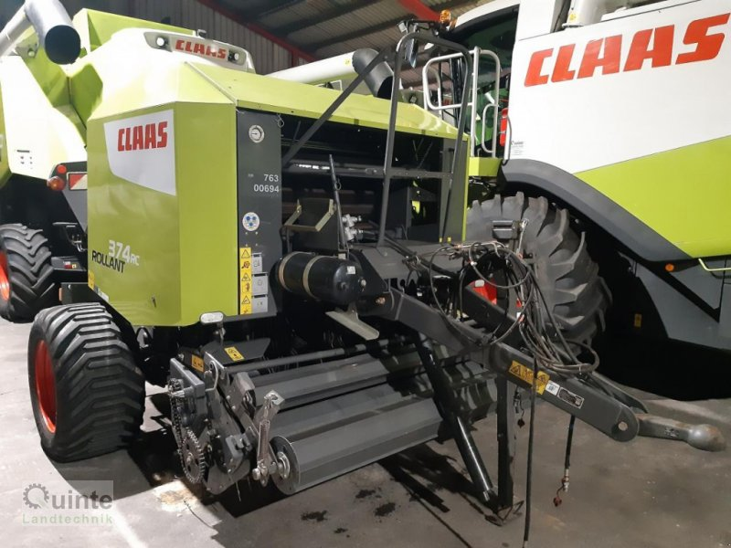 Rundballenpresse a típus CLAAS Rollant 374 RC Pro, Gebrauchtmaschine ekkor: Lichtenau-Kleinenberg (Kép 1)