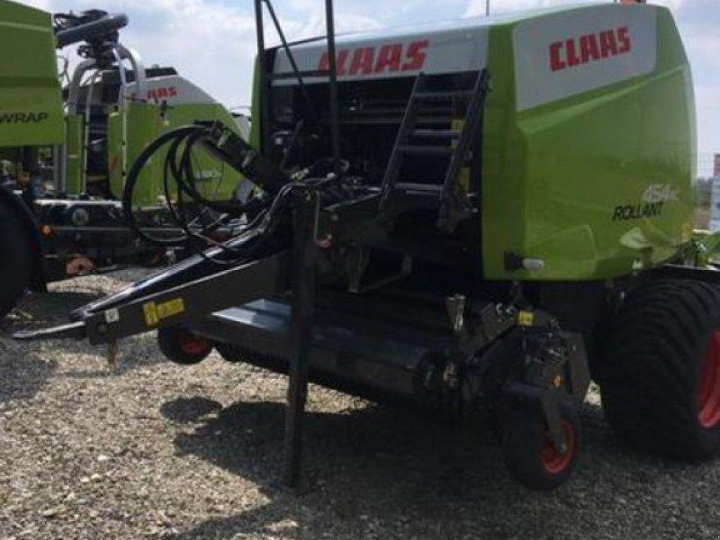 Rundballenpresse des Typs CLAAS ROLLANT 454 RC PRO, Vorführmaschine in Moos-Langenisarhofen (Bild 3)