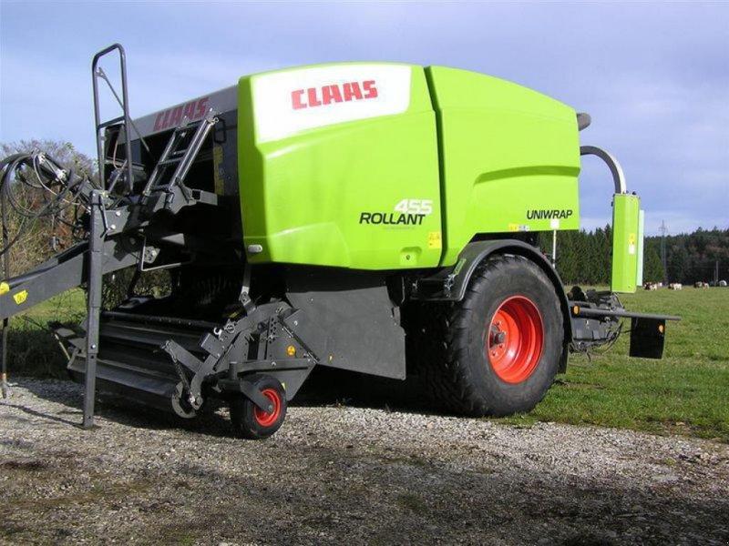 Rundballenpresse des Typs CLAAS ROLLANT 455 RC UNIWRAP, Gebrauchtmaschine in Töging a. Inn (Bild 1)