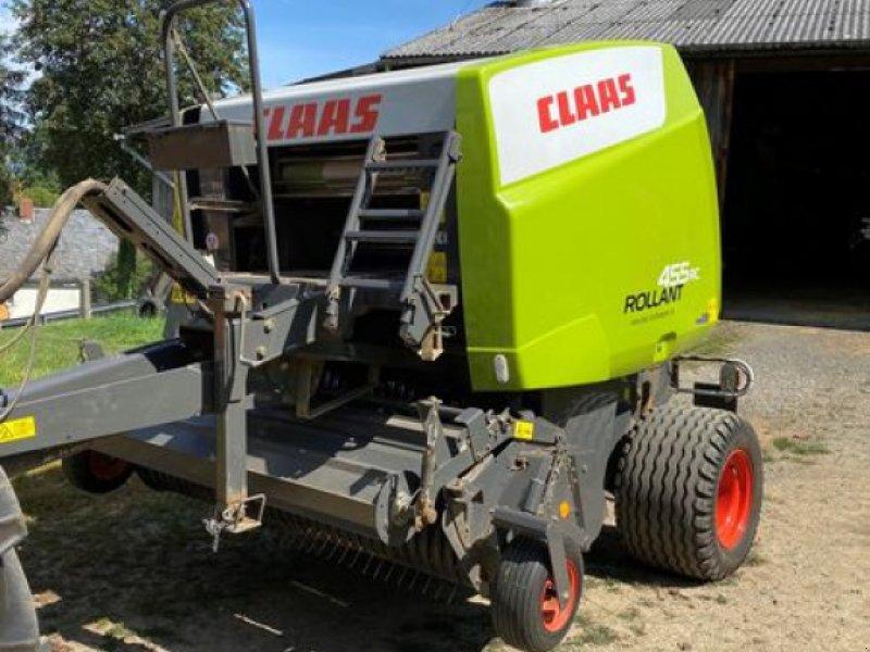 Rundballenpresse des Typs CLAAS ROLLANT 455 RC, Gebrauchtmaschine in Gefrees (Bild 1)