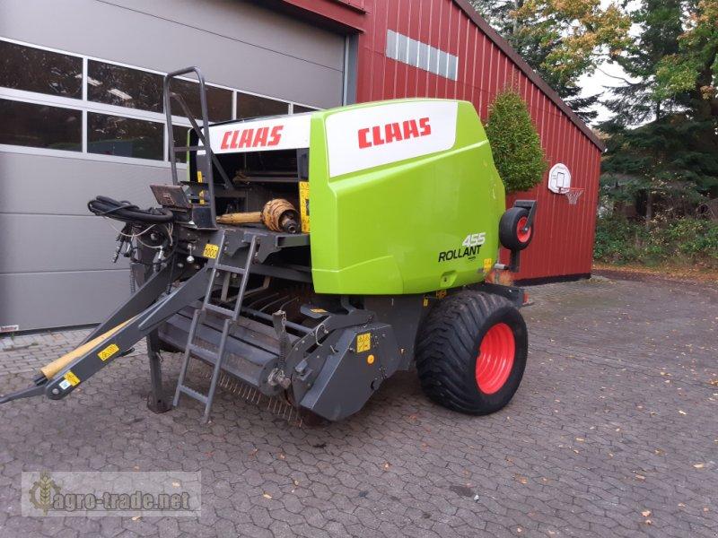Rundballenpresse a típus CLAAS Rollant 455 RC, Gebrauchtmaschine ekkor: Ellerdorf (Kép 1)