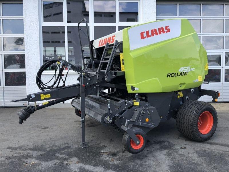 Rundballenpresse des Typs CLAAS ROLLANT 455 RC, Vorführmaschine in Cham (Bild 1)