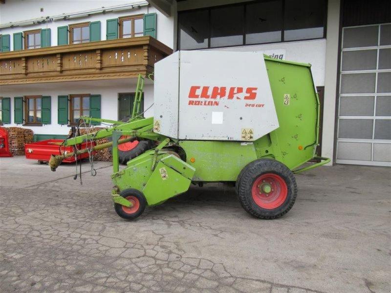 Rundballenpresse des Typs CLAAS ROLLANT 46 RC, Gebrauchtmaschine in Töging a. Inn (Bild 1)