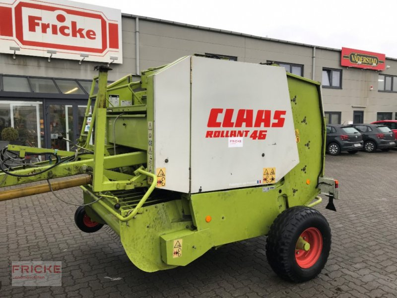 Rundballenpresse a típus CLAAS Rollant 46, Gebrauchtmaschine ekkor: Demmin (Kép 1)
