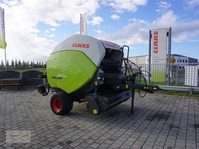 Rundballenpresse des Typs CLAAS ROLLANT 620 RC, Vorführmaschine in Töging am Inn (Bild 1)