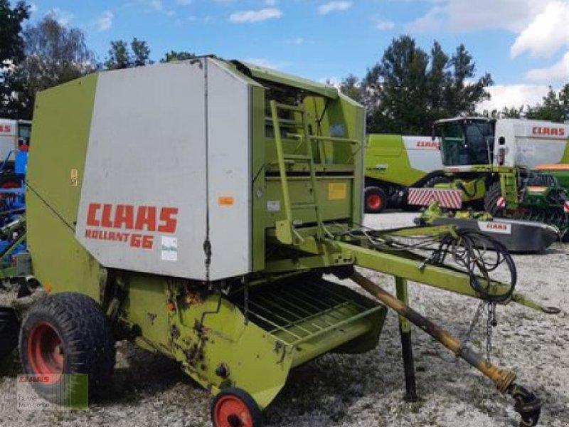 Rundballenpresse des Typs CLAAS ROLLANT 66, Gebrauchtmaschine in Vohburg (Bild 1)