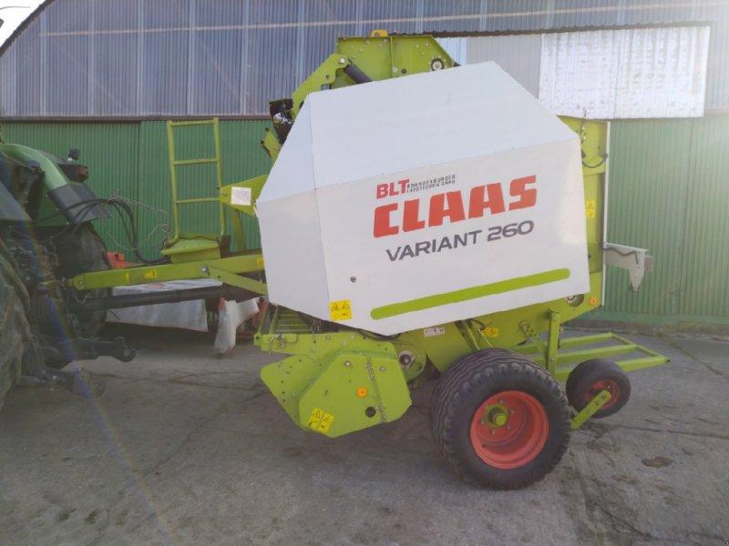 Rundballenpresse a típus CLAAS Variant 260 Rotofeed, Gebrauchtmaschine ekkor: Liebenwalde (Kép 1)