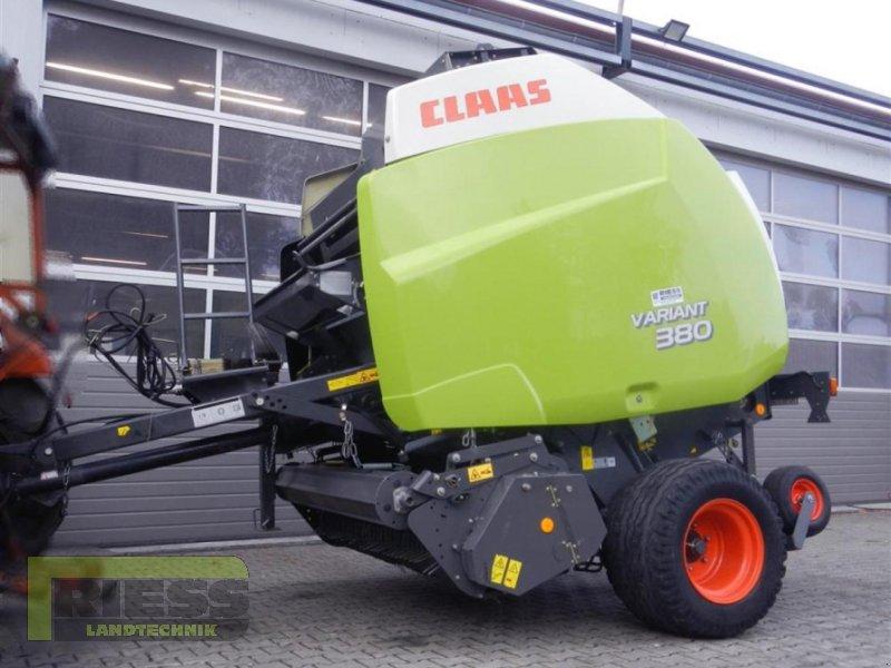 Rundballenpresse a típus CLAAS Variant 380 RC, Gebrauchtmaschine ekkor: Homberg (Ohm) - Maulbach (Kép 1)