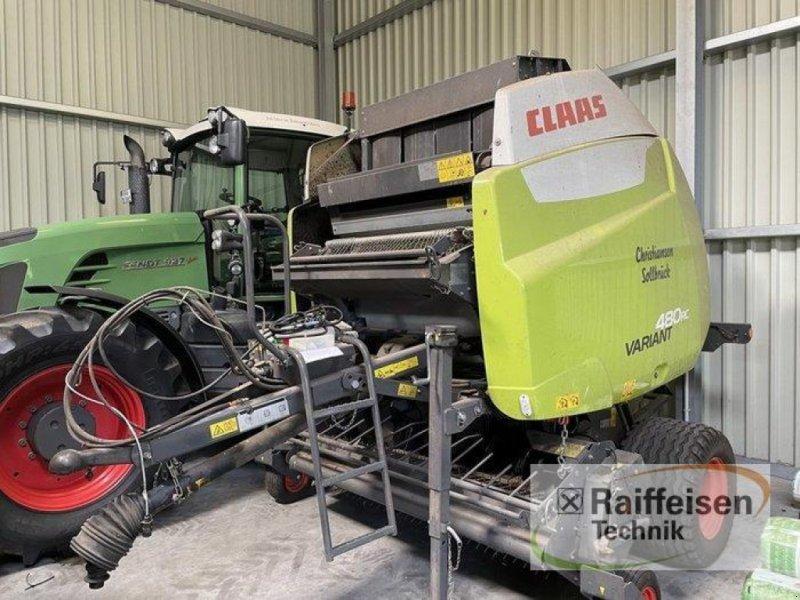 Rundballenpresse des Typs CLAAS Variant 480 RC, Gebrauchtmaschine in Husum (Bild 1)