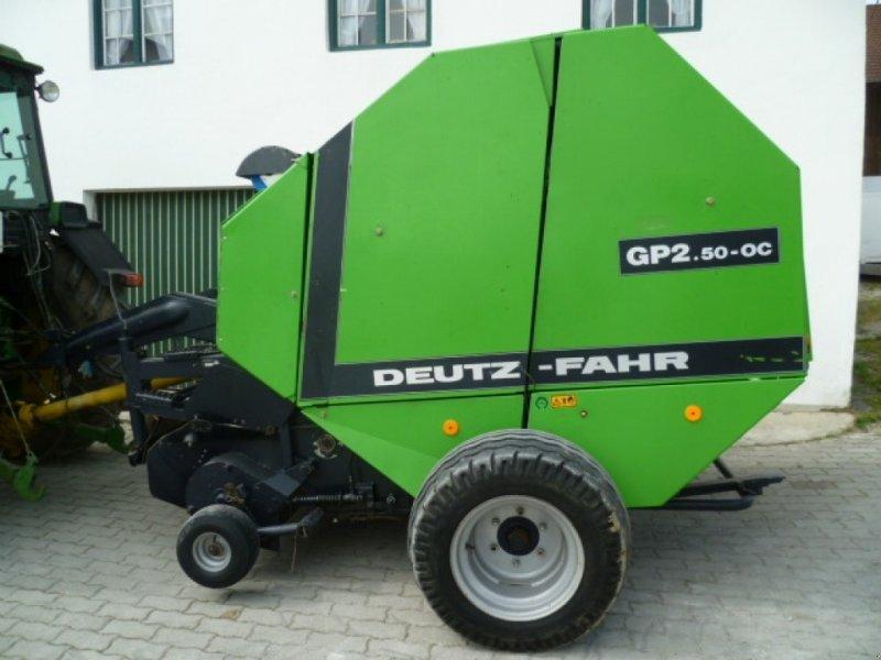 Rundballenpresse a típus Deutz-Fahr GP 2.50 OC, Gebrauchtmaschine ekkor: Ebersberg (Kép 1)