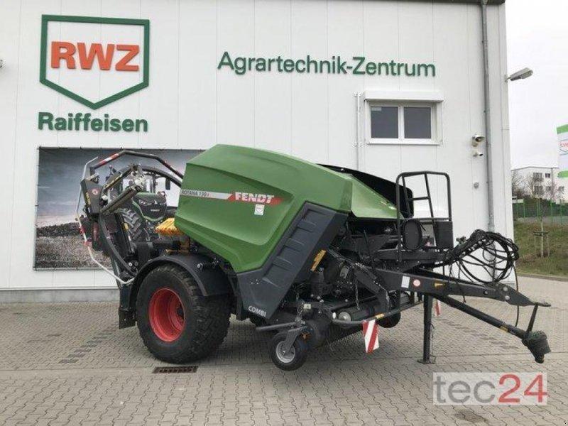 Rundballenpresse des Typs Fendt Rotana 130 F Combi, Vorführmaschine in Diez (Bild 1)