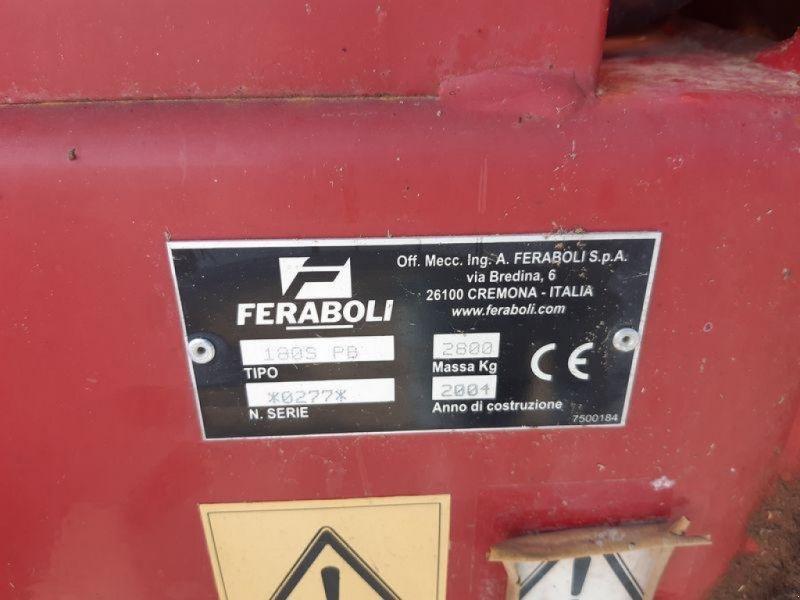 Rundballenpresse typu Feraboli SPRINTER180, Gebrauchtmaschine v SAINT GENEST D'AMBIE (Obrázok 7)