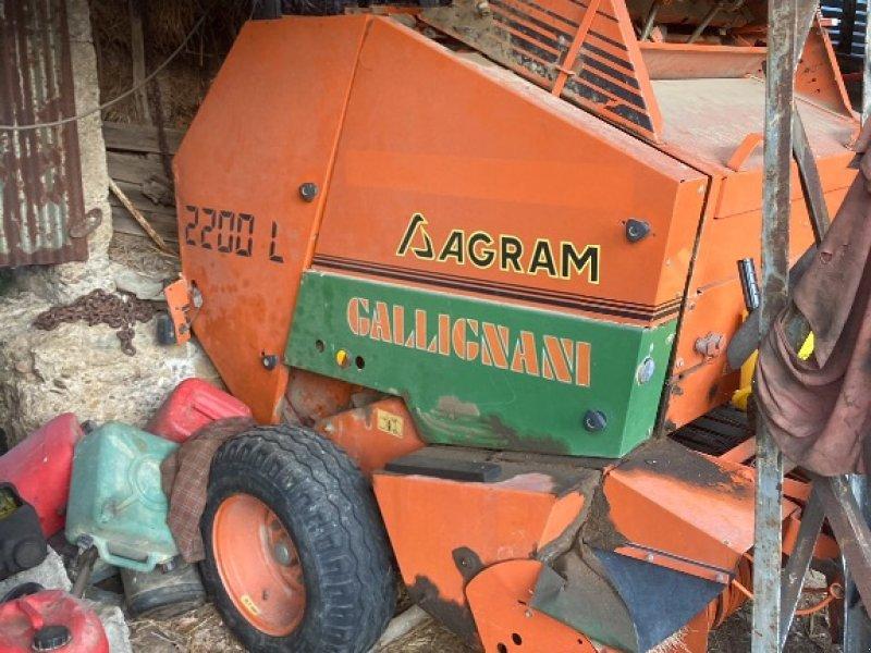 Rundballenpresse типа Gallignani 2200 L, Gebrauchtmaschine в VERNOUX EN VIVARAIS (Фотография 1)