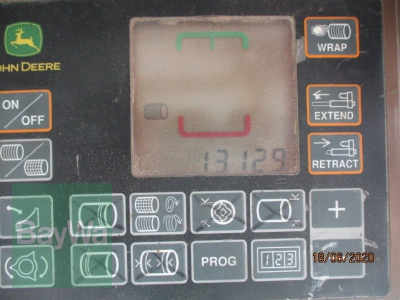 Rundballenpresse des Typs John Deere 578 Maxi Cut, Gebrauchtmaschine in Schönau b.Tuntenhausen (Bild 8)