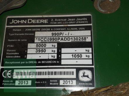 Rundballenpresse des Typs John Deere 990 MAXICUT, Gebrauchtmaschine in Dinkelsbühl (Bild 16)