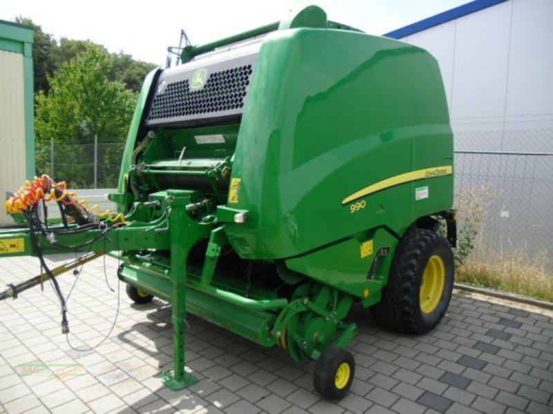Rundballenpresse des Typs John Deere 990 Premium, Gebrauchtmaschine in Ingelfingen-Stachenhausen (Bild 1)
