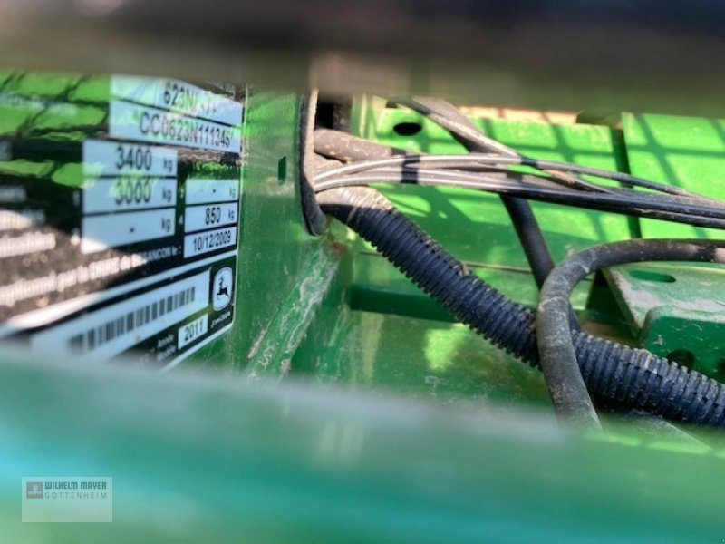 Rundballenpresse des Typs John Deere JD 623 MULTICROP, Gebrauchtmaschine in Gottenheim (Bild 8)