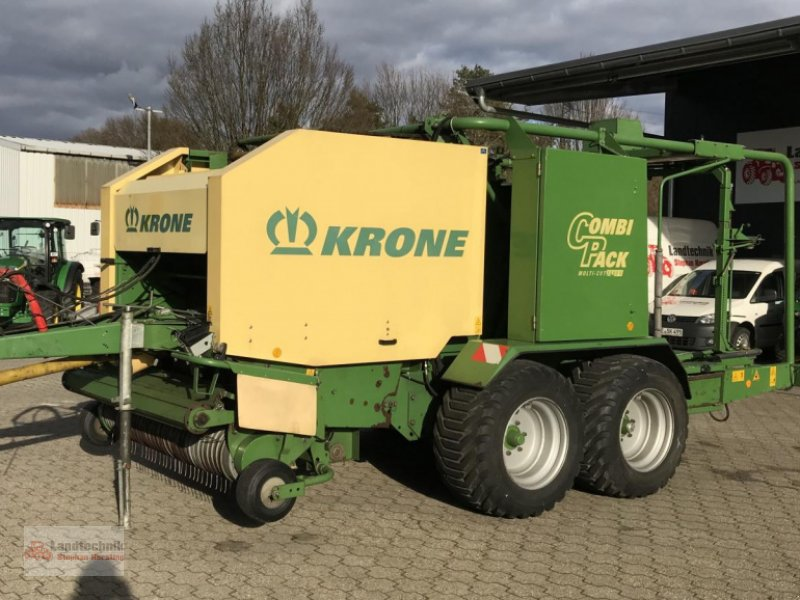 Rundballenpresse типа Krone Combi Pack 1500 V Multi-Cut, Gebrauchtmaschine в Marl (Фотография 1)