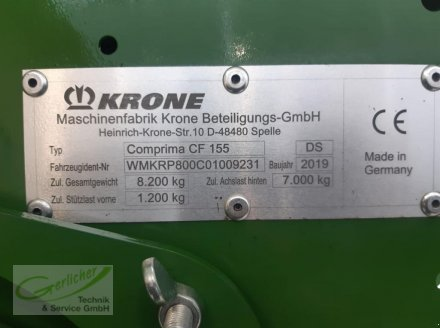 Rundballenpresse типа Krone Comprima  CV 150 XC X-Treme, Gebrauchtmaschine в Neustadt (Фотография 20)