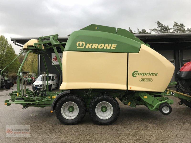 Rundballenpresse типа Krone Comprima CV 210 XC **nur 4300 Ballen**, Gebrauchtmaschine в Marl (Фотография 1)