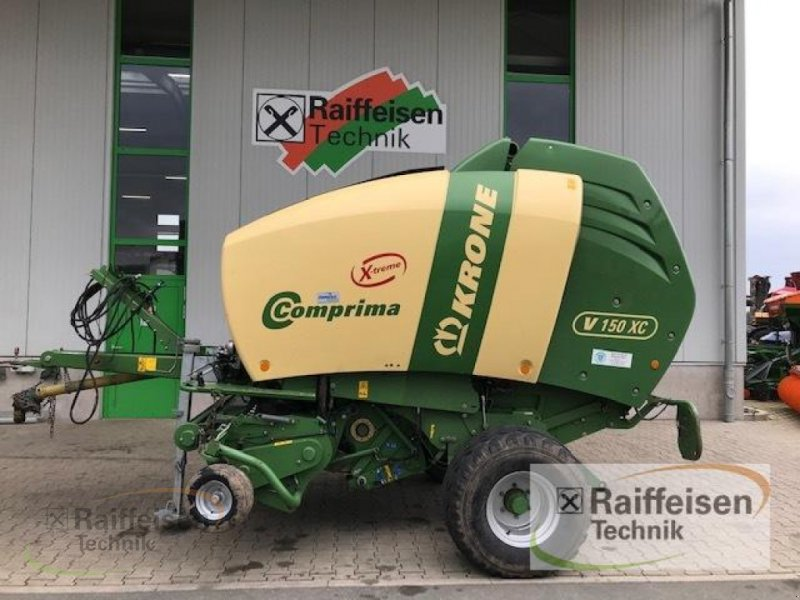 Rundballenpresse a típus Krone Comprima V 150 XC EXTREM, Gebrauchtmaschine ekkor: Gudensberg (Kép 1)