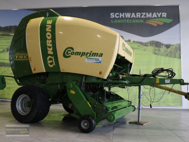 Rundballenpresse des Typs Krone Comprima V 150 XC mit hydraulischer Bremse, Gebrauchtmaschine in Gampern (Bild 1)