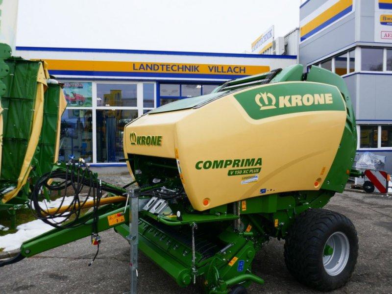 Rundballenpresse des Typs Krone Comprima V 150 XC Plus, Gebrauchtmaschine in Villach (Bild 1)